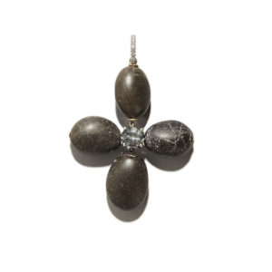 Dolly Boucoyannis Pebble Cross Pendant