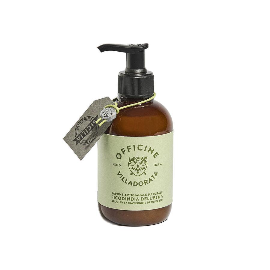 Villadorata Etna Prickly Pear Liquid Soap