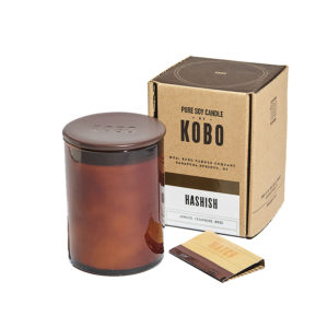 Kobo Hashish Woodblock Candle Collection