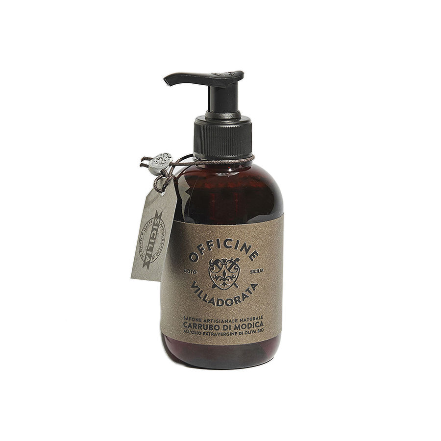Villadorata Modica Carob Liquid Soap