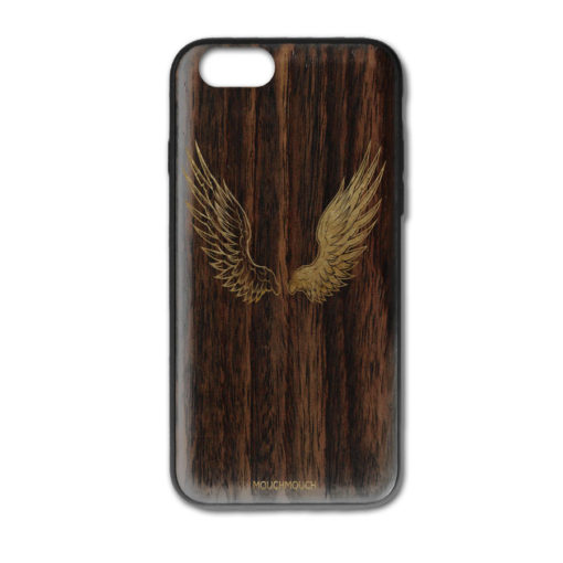 Mouch Mouch Angel or Demon i-Phone XR Gold Paint Case MOUCH.034XRPG