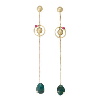 Pari Sofianou Pea Galaxies Earrings PSOFEAR5