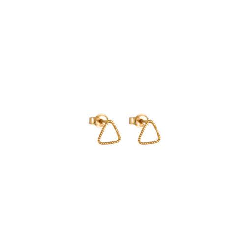Christina Soubli Basics Triangle Stud Earrings BAS01