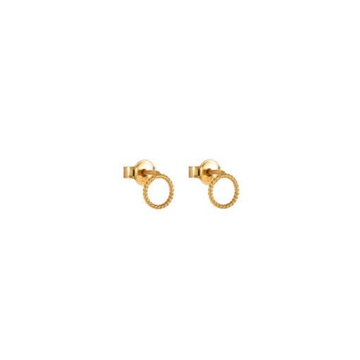 Christina Soubli Basics Round Stud Earrings BAS02