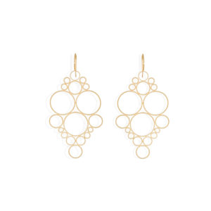 Christina Soubli Dentelles Princess Hook Earrings DEN22