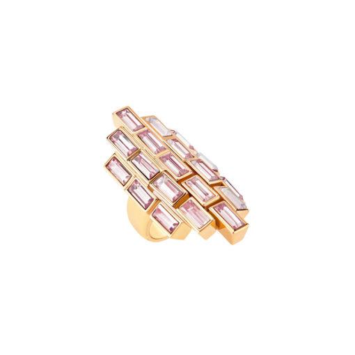 Atelier Swarovski Fluid Cocktail Ring Light Amethyst SW5520751 - SW5519783