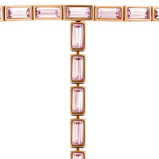 Atelier Swarovski Fluid Long Necklace Light Amethyst SW5520779