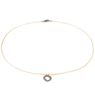 Alexandra Jacoumis Mati Pendant on Cord Necklace AJNP005b