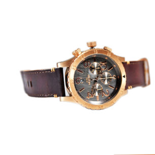 Nixon 48-20 Chrono Leather 48mm