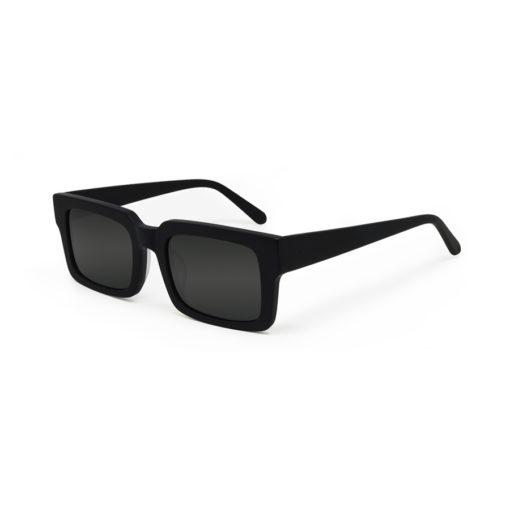 We Are Eyes Qubit Black Matte Sunglasses