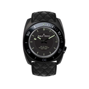 "Ralf Tech WRV ""R"" Hybrid Black Engine Watch"