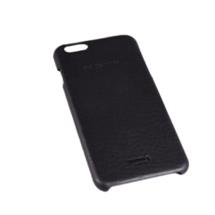 Leather Wrapped Case for iPhone 6 Plus Black