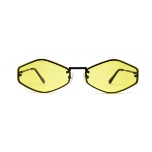 We Are Eyes Theta Sunglasses with Yellow Lenses