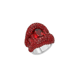 Atelier Swarovski Tigris Statement Ring Siam SW5507106