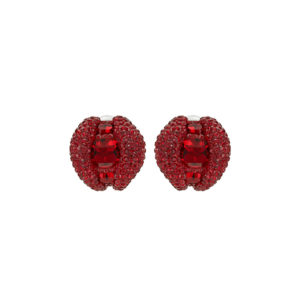 Atelier Swarovski Tigris Stud Clip Earrings Siam SW5507103