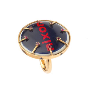 Politically correct NIXON Ring