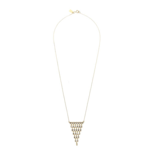 Baguette Cascade Necklace