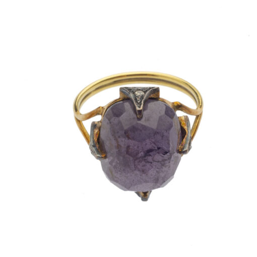 Natural spinel ring _Oona