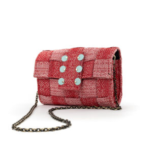 PIXEL-CLUTCH-RED-LOVE-KNOT