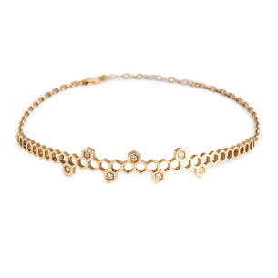 crown-choker2_honeycomb_alveare