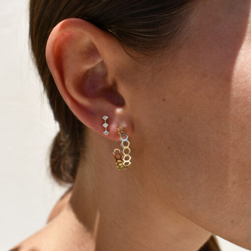 honeycombs-small-hoops-&-orion-small-earring_alveare