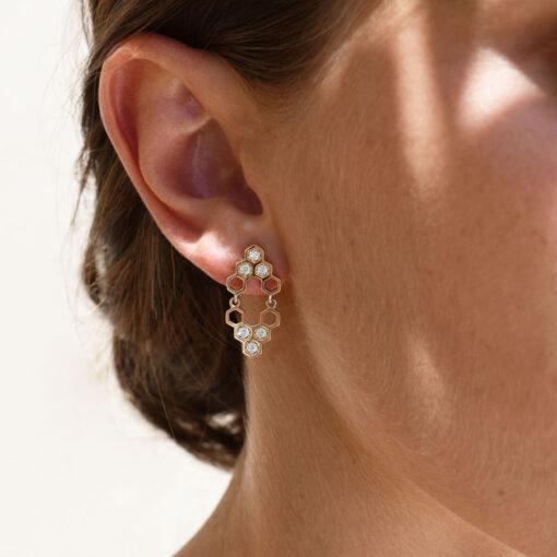 mirall-earrings_honeycomb_alveare