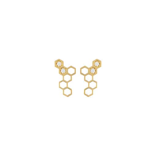 wing-earrings1_honeycomb_alveare