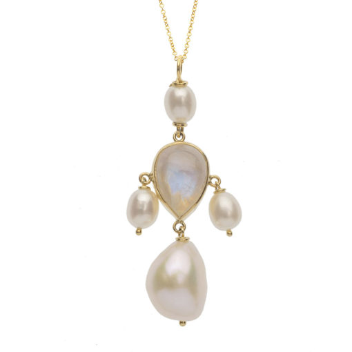 cross pearl necklace_dolly_boucoyannis
