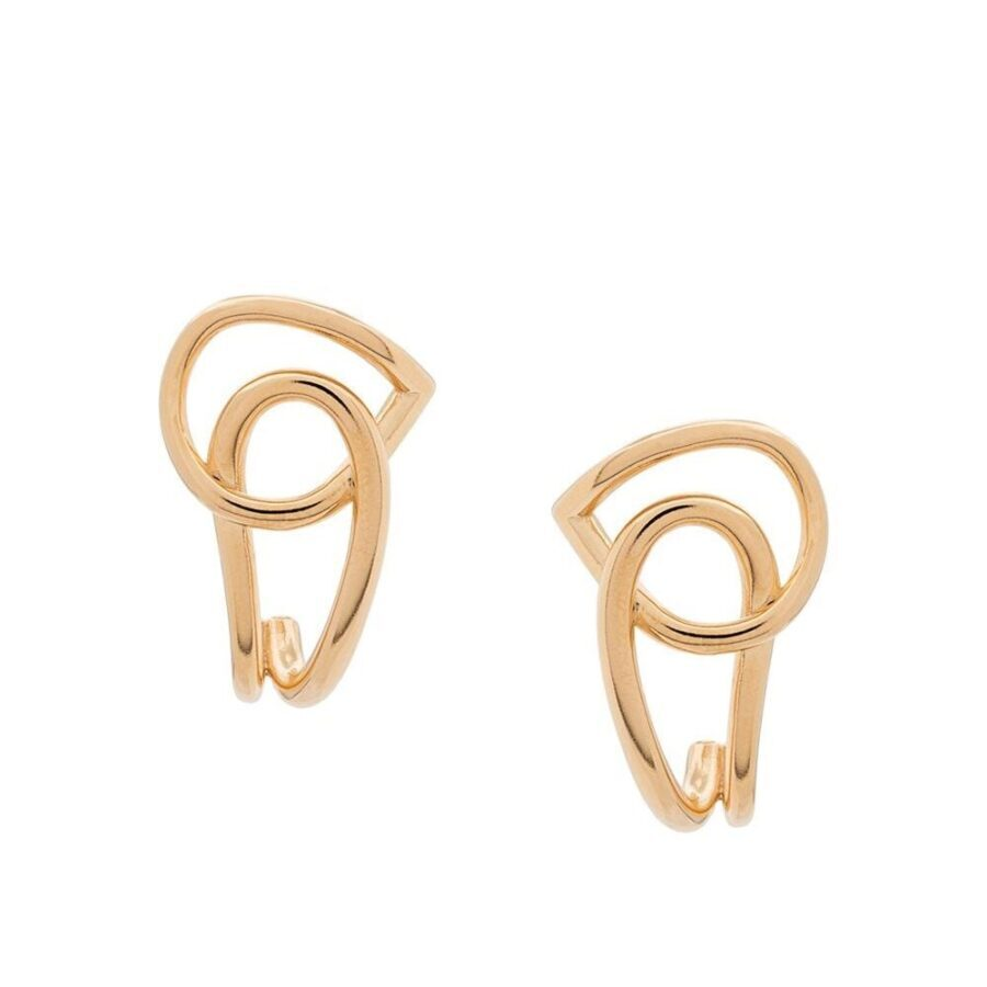 Blaue Earrings Charlotte Chesnais Vermeil