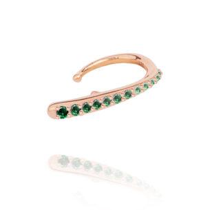 MARIE-MAS---Ocean-Tide-Ear-Jewel---Marie-Mas--Emerald-Wave