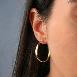 Large Round Hoops SOR.080772