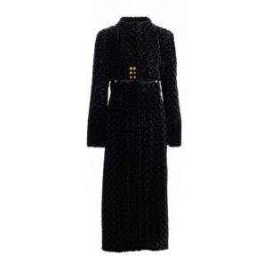 Coat-Eco-Fur-Black