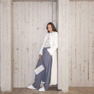 Coat Eco Fur White