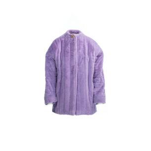 Coat Short Eco Fur Lilac