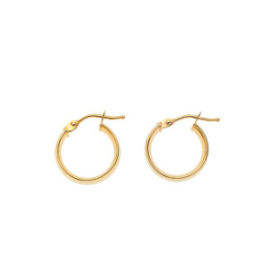 Small Round Hoop Gold SOR.131352