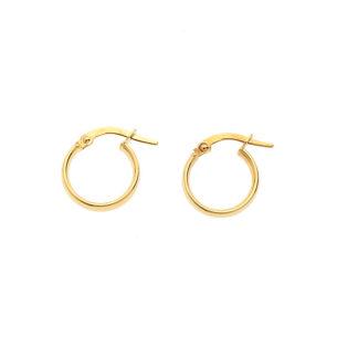 Wide Hoops Gold SOR.117975